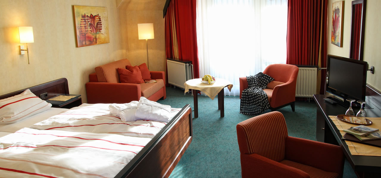 Hotelzimmer Flair Hotel Zentral