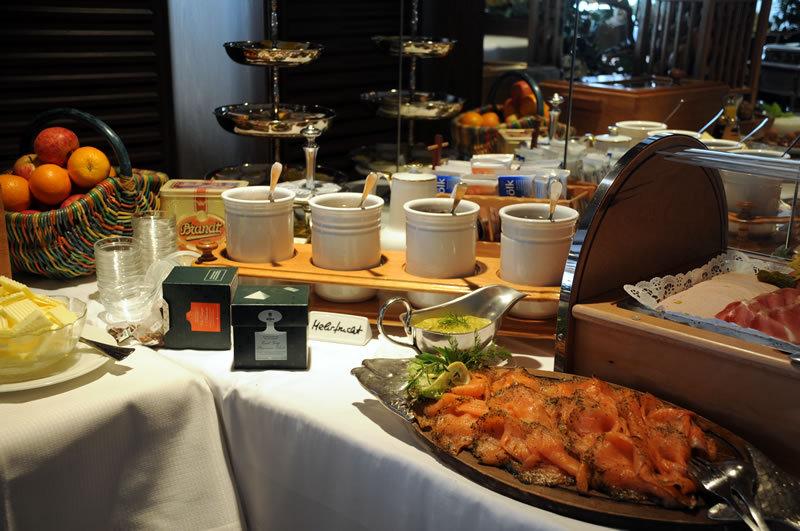 Fruehstuecksbuffet im Flair Hotel Central Willingen