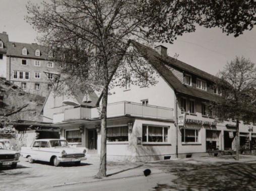Das Hotel um 1960