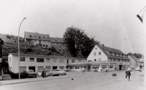Das Hotel um 1967